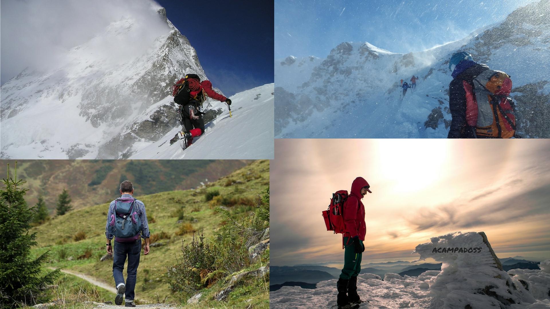 ¿Qué tipo de montañero eres?
