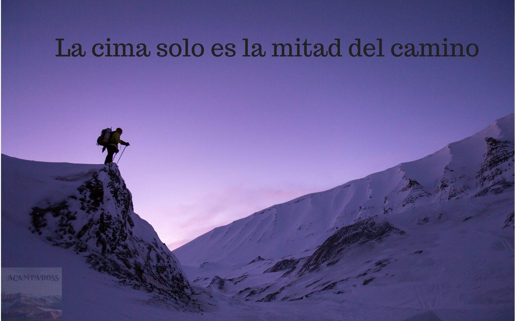 Ropa de montaña especial para subir la montaña