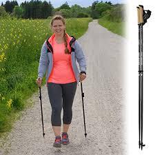 BB Sport Walker 5000 - Bastón para nordic walking (muy ligero, edición Premium)