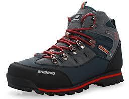 GNEDIAE Para hombre Botas de Senderismo Impermeables de ocio al Aire Libre Zapatos de Deporte Zapatillas de Senderismo cordones